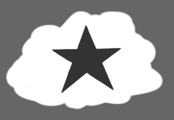 Star Cloud Symbol