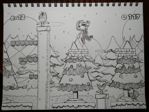 Day 11: Super Mario Bros Snow Level